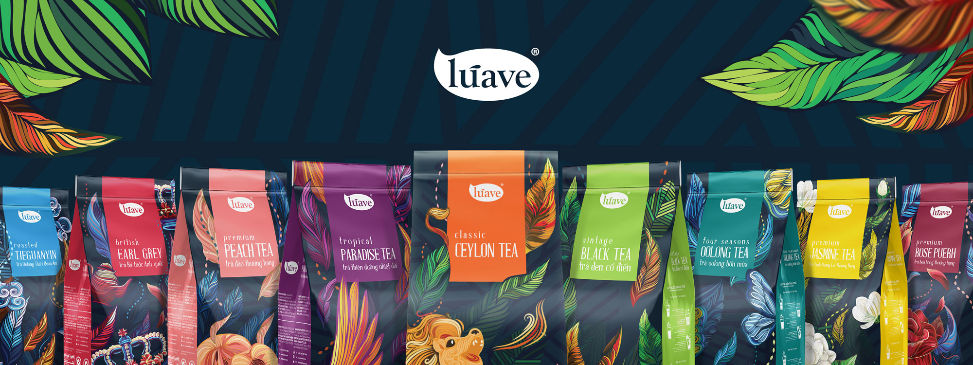 Luave - Comma - Packaging